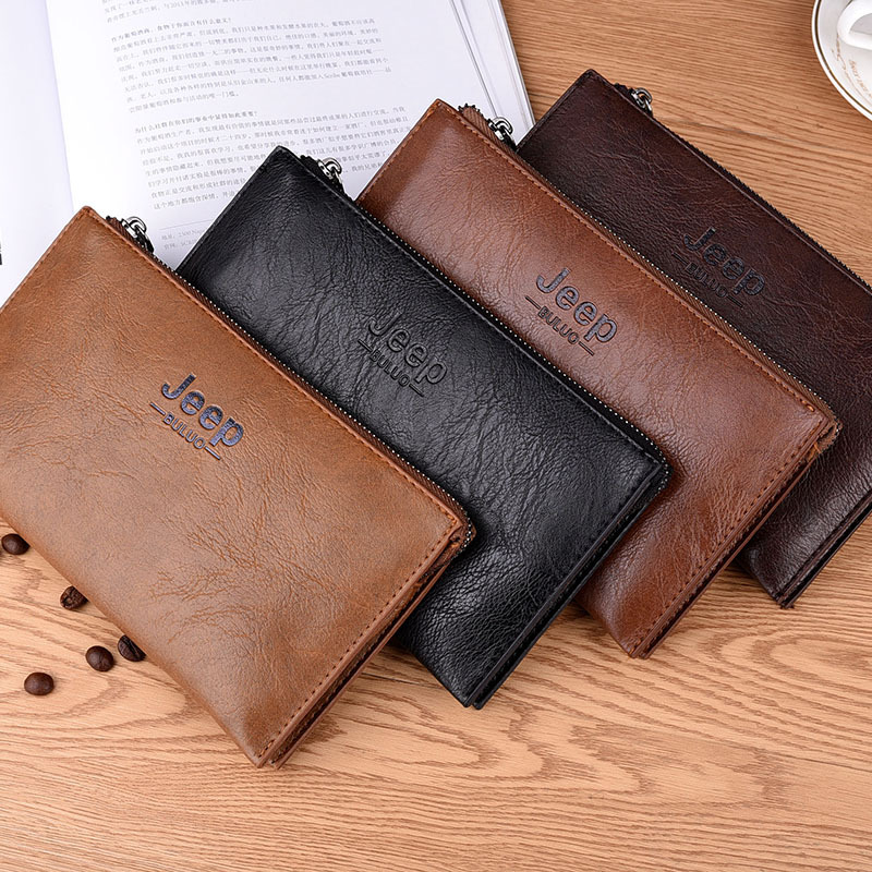 New Men Wallet Hand Bag Fashion Long Wallet High-capacity Mobile Phone Bag Hot Style On Sale Manufacturers Selling Bag Mail