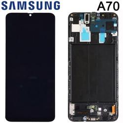 6,7 ''дисплей для Samsung Galaxy A70 2019 A705 A705F SM-A705F A705DS ЖК-дисплей сенсорный экран дигитайзер сборка Замена