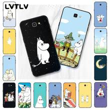 LVTLV Cartoon Cute moomin hippo Phone Case For Samsung Galaxy J7 J6 J8 J4 J4Plus J7 DUO J7NEO J2 J5 Prime(China)