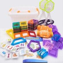 Magnetic Blocks Toys Assembly-Bricks Building-Toy Construction-Set Children Mini Model