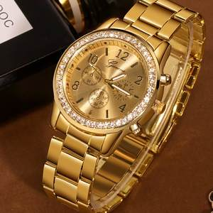 Clock Diamond Watch Gift Montre Femme Classic Reloj Mujer Fashion Luxury Women