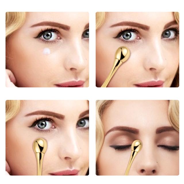 Anti Wrinkle Eye Massager Stick  Eye Cream Applicator