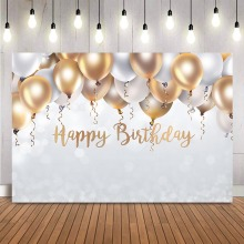 Glitter birthday balloons backdrop kids adult theme party photo background photocall customize white balloons party decoration