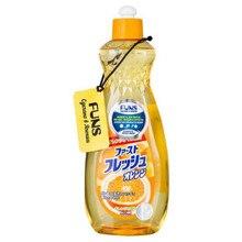 Жидкость для мытья посуды овощей и фруктов свежий «Апельсин» Funs, 600 мл