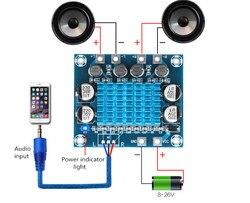 1 шт. TPA3110, Плата усилителя мощности для цифрового стерео аудио сигнала, 30 Вт + 30 Вт, 2 канала, 8-26 в пост. Тока, 3 А