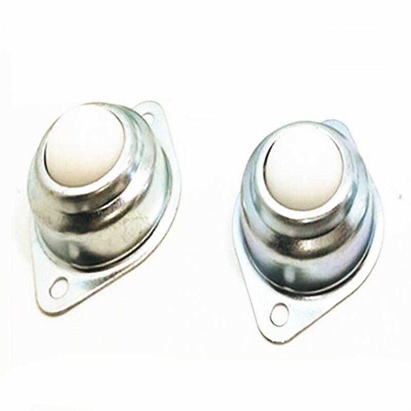 20pcs 15A Dia 5//8/'/' Nylon Ball Metal Transfer Bearing Unit Conveyor Roller