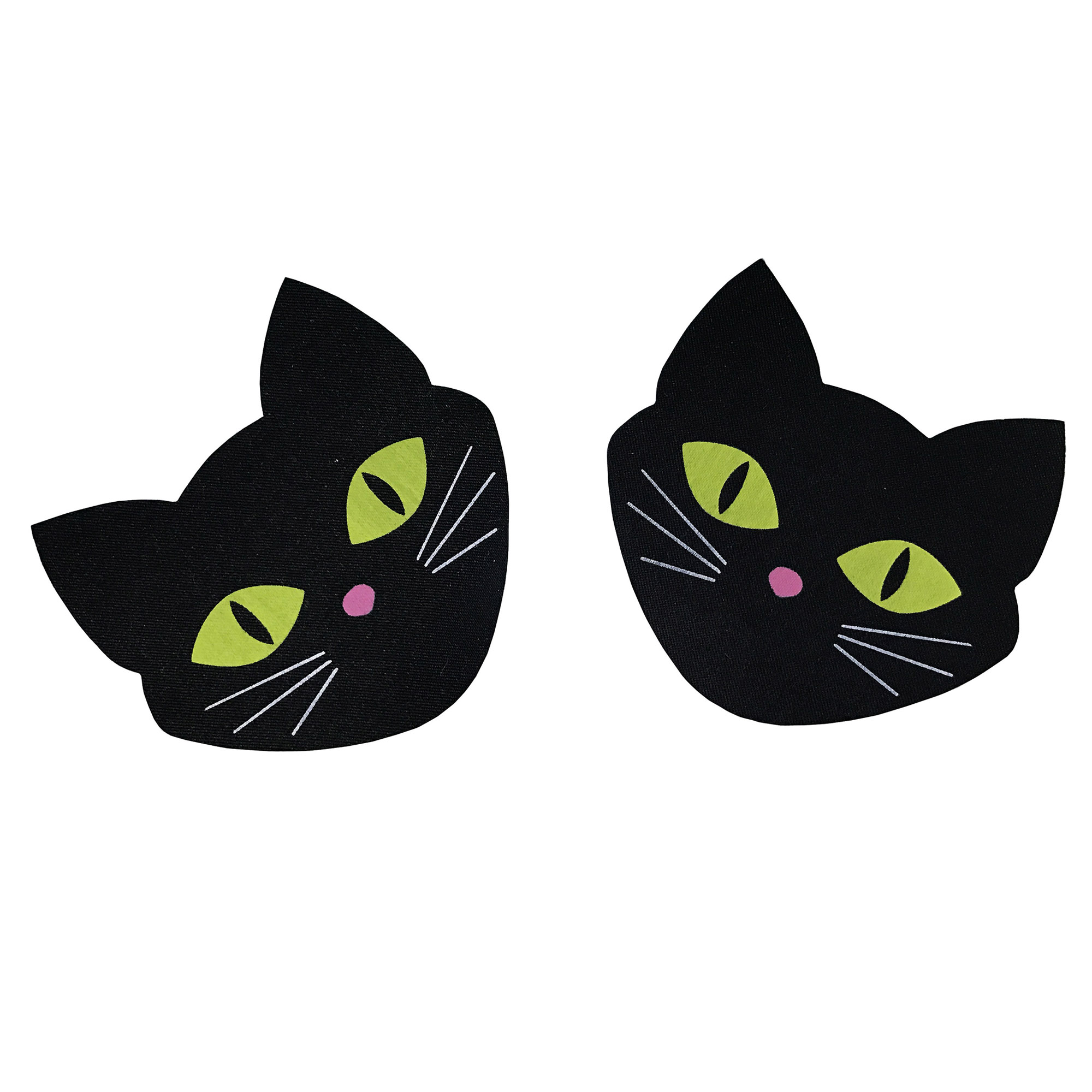 NEW 1Pair(2Pcs)Luminous Cat Breast Petals Stickers Nipple Cover Invisible Bra Pad Pastie Disposable Self Adhesive Breast Pasties