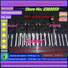 Aoweziic 2019 + 100% nuovo originale importato FGH40N60SMD FGH40N60 TO 247 triodo di potenza IGBT transistor 40A 600V