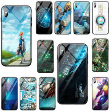 Fashion Sanctum Kaca Tempered Aksesoris Case untuk iPhone 8 7 6 6S Plus X XR X 11 Pro MAX 10 Coque Shell(China)