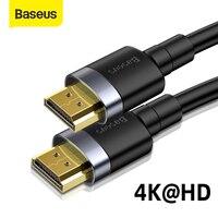 Baseus-Cable de vídeo 4K HD a HD, 2,0, 4K, 3D, conmutador divisor de TV, 4k, HDMI, Compatible con PS3, PS4, Ordenador de TV