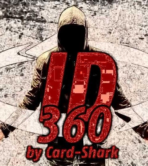 2020   ID360 By Card-Shark Magic Instructions  Magic Trick
