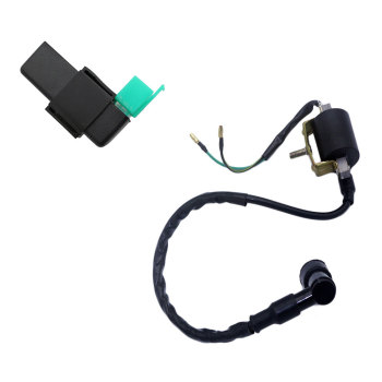 High Performance Ignition Coil & 5 P AC CDI Box for Jackel Wildfire Gokart ATV 50cc 90cc 110cc 125cc image