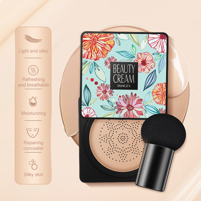 Images Mushroom Head Air Cushion Cc Cream Concealer Bb Cream Air Cushion Bb Cream Moisturizing Cc Foundation Sunisa Cream TSLM1