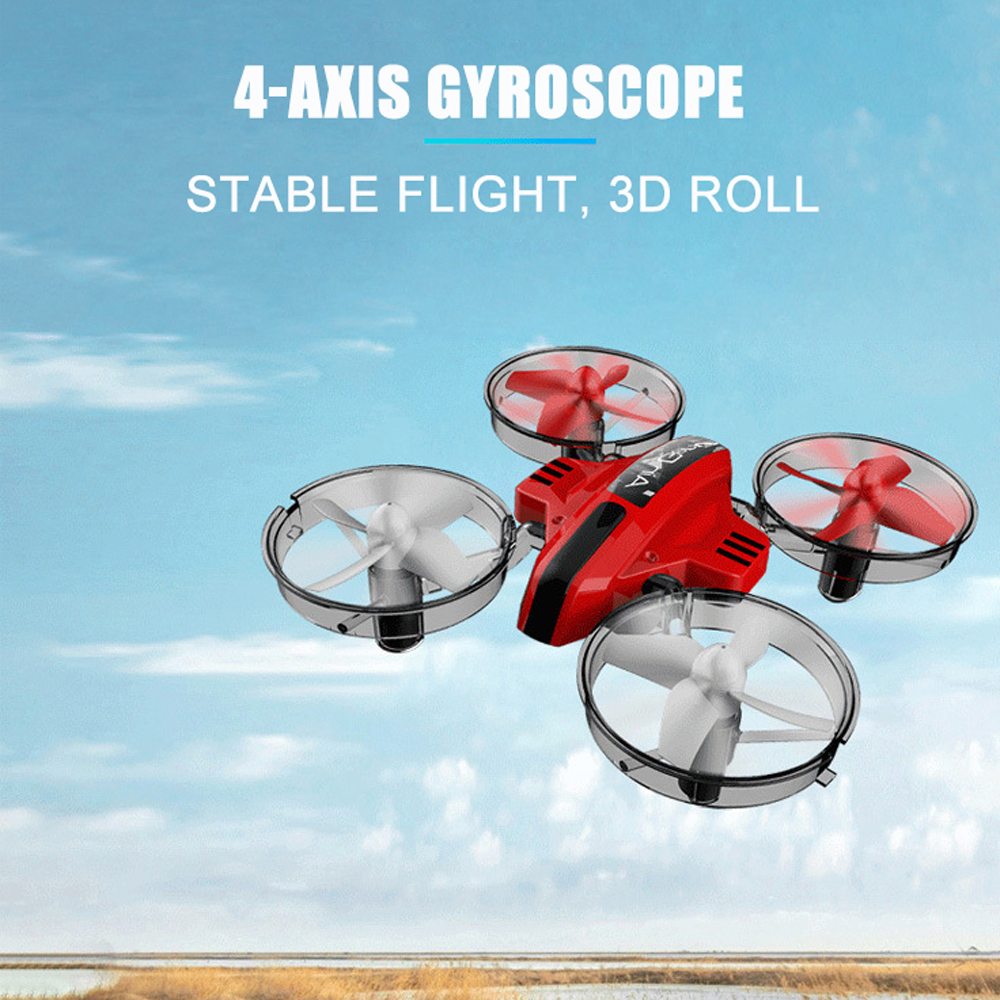 2.4G RC Drone 3 in 1 Quadcopter Glider Airship Airplane Hovercraft RC Multi-functional Aircraft Christmas Gift Toy for Kid