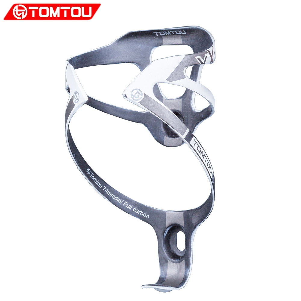 TOMTOU XXX Full Carbon Bicycle Water <font><b>Bottle</b></font> Holder <font><b>Bike</b></font> <font><b>Bottle</b></font> <font><b>Cage</b></font> Ultralight 16g UD Finish image