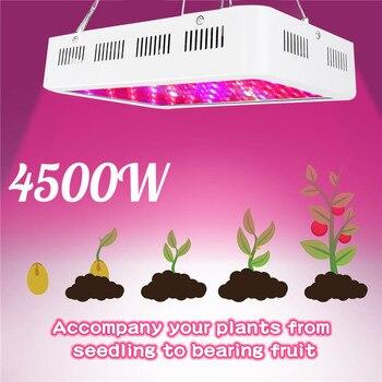 LED Grow Light Phyto Lamp 4500W Lamp For Plant AC85-265V Phytolamp For Plants Full Spectrum Flower Seedling Cultivation