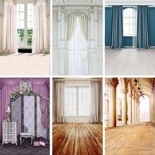 Laeacco ستارة نافذة فرنسية ، خلفية للتصوير الداخلي ، لنافذة غرفة المعيشة ، والحفلات ، والصور الداخلية