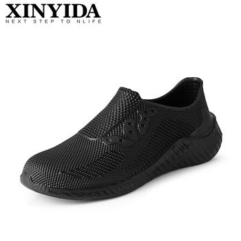 2021 nowe męskie kalosze antypoślizgowe wodoodporne olejoodporne kuchenne buty szefa kuchni antypoślizgowe buty robocze lub mokre buty rozmiar 39-44 tanie i dobre opinie XINYIDA CN (pochodzenie) ANKLE Pracy i bezpieczeństwa okrągły nosek RUBBER Mieszkanie (≤1cm) Wsuwane 9061 men rain shoes