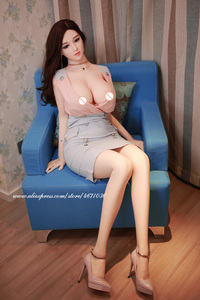 Image 5 - Full Size Silicone Sex Doll 148cm Adult Toy Big Breast Sex Product Metal Skeleton Lifelike Vagina Oral Ass Love Dolls for Men