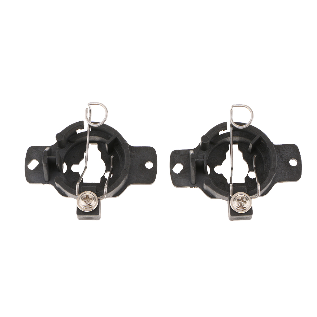 Pair H1 HID Xenon Bulbs Conversion Adapters Holders For Mercedes S320 320