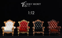 Couch Model Toys Collectible VSTOYS 19XG42 1/12 Royal Sofa Chair Furniture Model Toy Fit 6'' Figure Doll