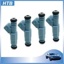 HTB 1-4 قطعة حقن الوقود ل VW GM لأوبل أسترا H زافيرا C20LET Z20LET Z20LEH Z20LEL Z20LER VXR 2.0 توربو 0280156280 55556799