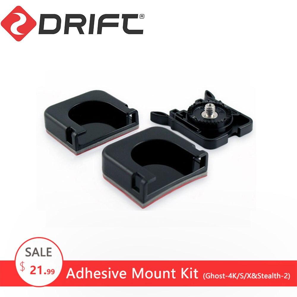 Accesorios de Cámara de Acción de deriva Go Sport Pro Yi videocámara adhesivo montaje Kit accesorios para Ghost-4K/X/S y stealth-2