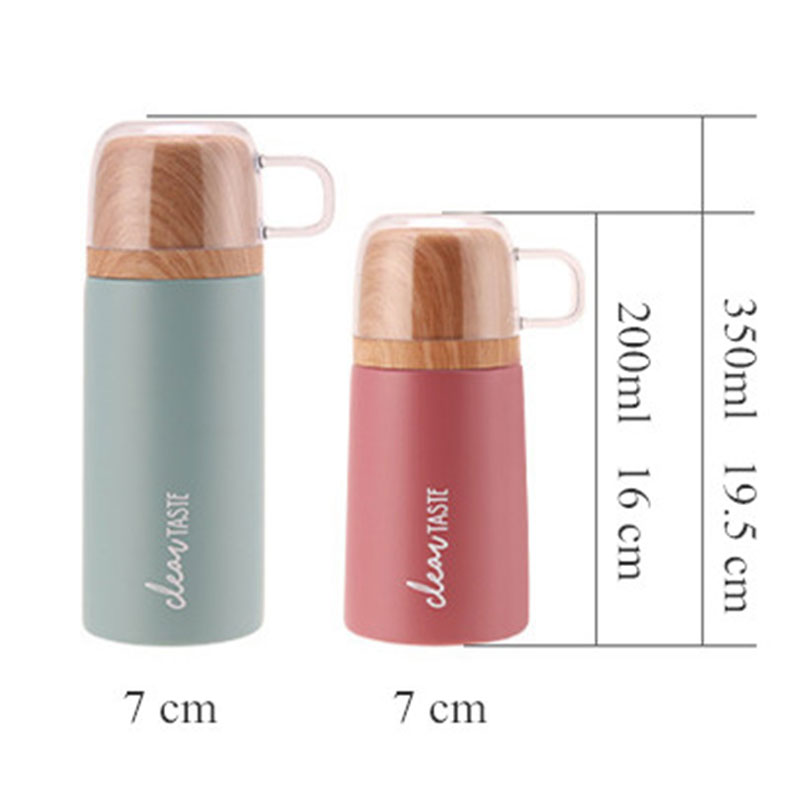 200&350ML 304 Stainless Steel Vacuum Flasks Portable Outdoor Sport Thermo Cup Coffee Tea Travel Mug Thermol Bottle Car Thermocup