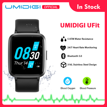 UMIDIGI UFit Health andFitness Tracker with SpO2 and Heart Rate Monitor Activity Tracker Smartwatch for Android and iOS Phone