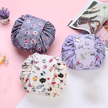 Women Fashion Drawstring Travel Cosmetic Bag Makeup