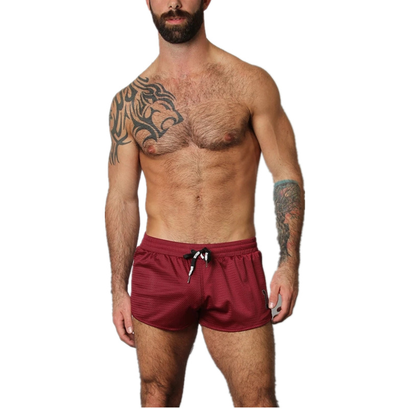 GYMLOCKER 2019 Summer Mens Shorts Fitness Casual Shorts Men Gyms Joggers Workout Bodybuilding Breathable Quick-drying Shorts