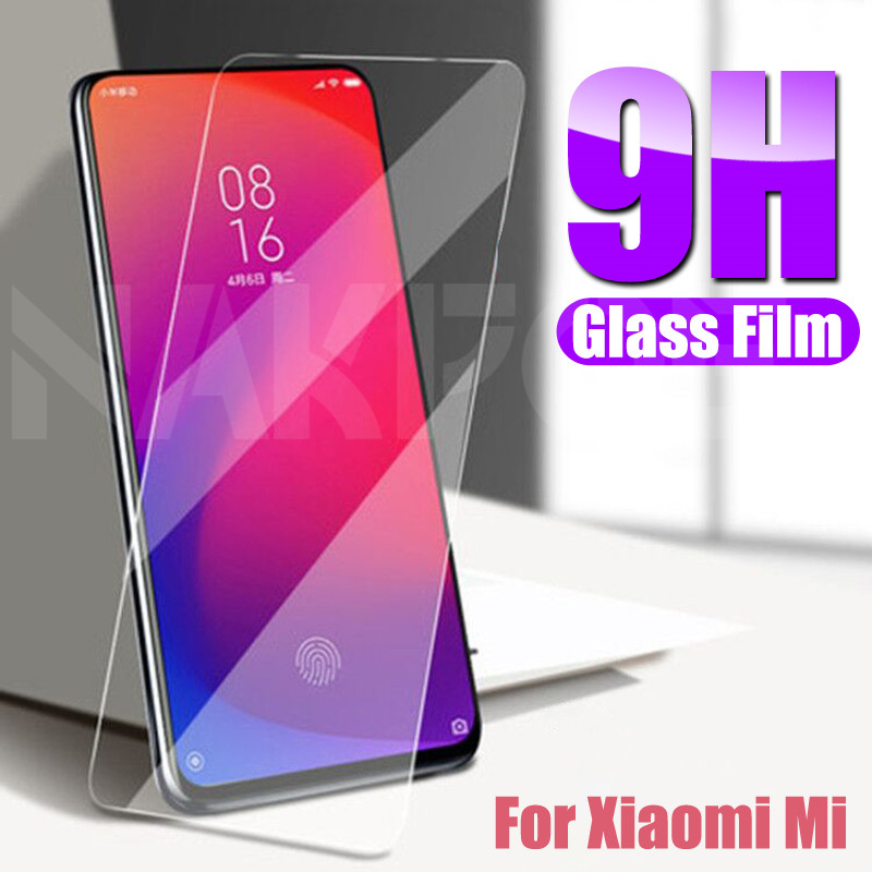 Protective Tempered Glass On The For Xiaomi Mi 9 8 SE 9T CC9 CC9E Screen Protector For Xiaomi Mi A3 A2 Lite Play F1 Glass Film