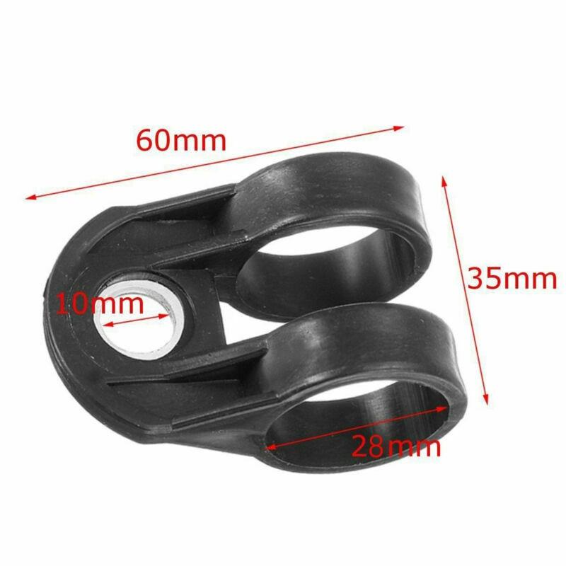1 X Universal Trimmer Harness Hook Clip Bracket Black For 28mm Shaft Lawn Mower