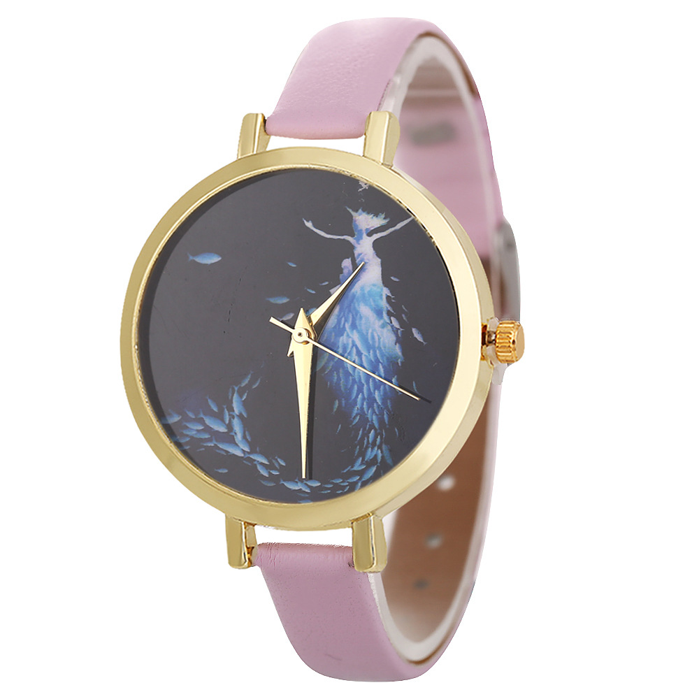 Image 4 - POFUNUO New Arrive Womens Fashion Luxury Watches Quartz Leather Band Wristwatch Unisex Popular Clock Gift-in Women's Watches from Watches