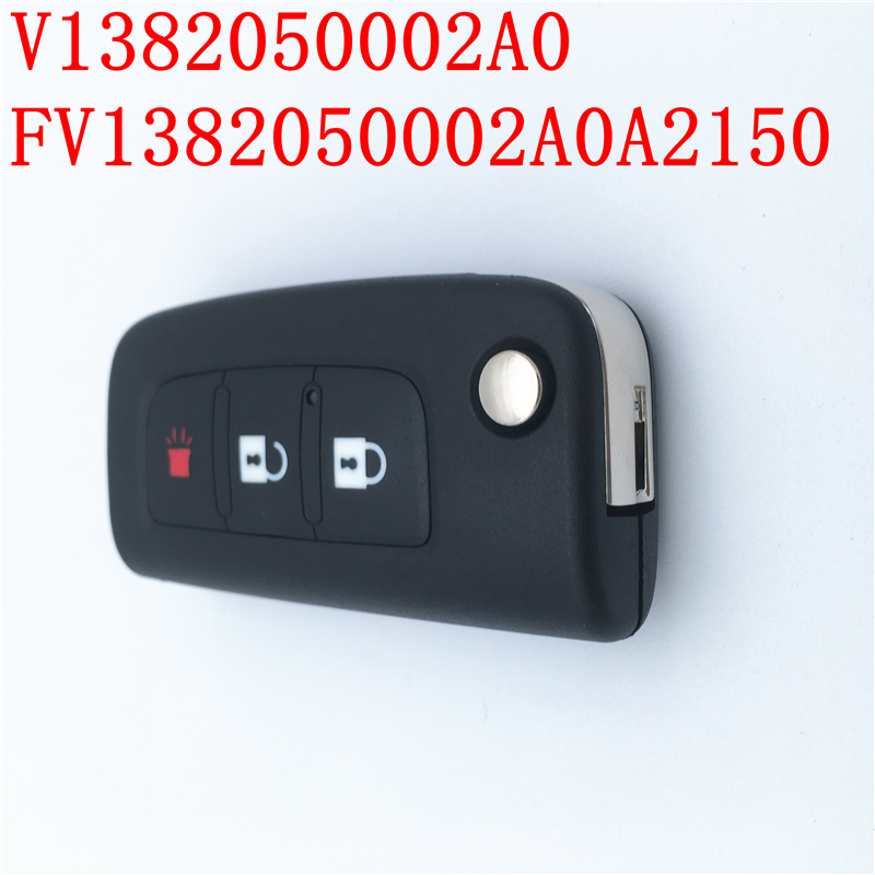 DHL UPS FAST SHIPPING 5PCS FOTON Key Assembly Oem V1382050002A0 FV1382050002A0A2150 Launcher Remote Control Key