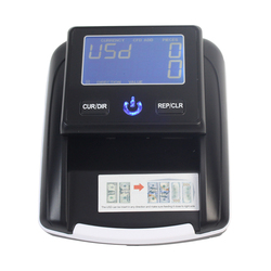 Aibecy Portable Banknote money Detector Banknote Cash Counter Using UV/MG/IR/DD Test Detector Counterfeit Currency Detector