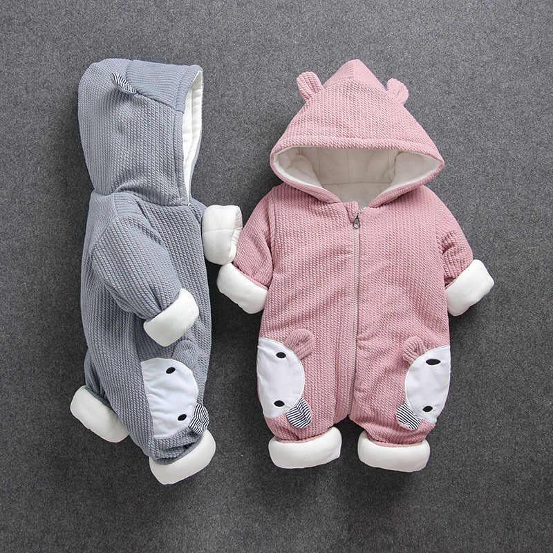 ฤดูใบไม้ร่วงฤดูหนาวทารกแรกเกิดเสื้อผ้าเด็กทารกRompersสำหรับเด็กทารกBoys Jumpsuitเด็กOverallsสำหรับทารกชุดเด็กทารกเสื้อผ้า
