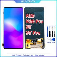 Оригинальный ЖК дисплей 6,39 для Xiaomi Redmi K20, сенсорный экран, дигитайзер в сборе, запасные части для Xiaomi Mi 9T LCD K20, ЖК дисплей