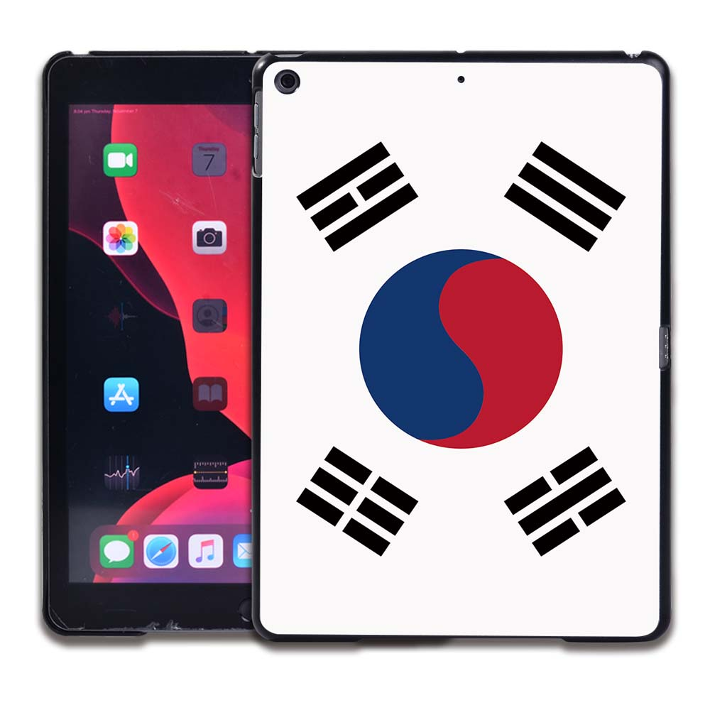 4.South Korean flag Yellow Tablet Hard Back for Apple IPad 8 2020 8th Gen 10 2 A2270 A2428 Z2429 Z2430