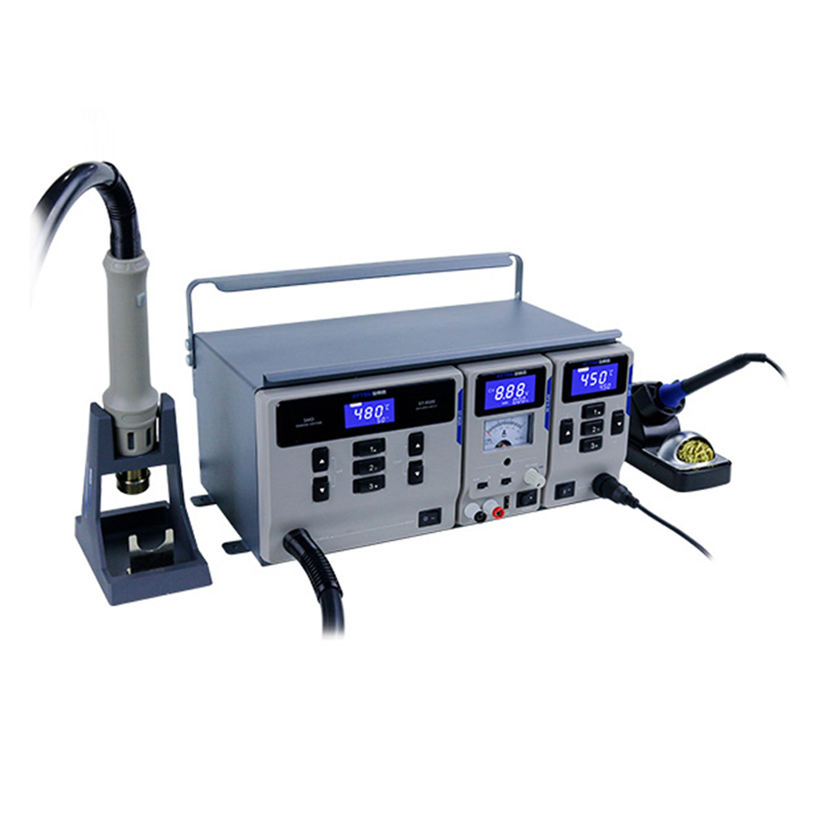 ATTEN MS-300 220V 1000W ST-862D Hot Air Desoldering Station ,65W ST-965 Soldering Station,56W APS15-3A Power Supply 3-in-1