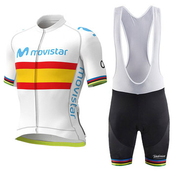 MOVISTAR, Jerseys de Ciclismo 2020 Pro, uniforme de equipo Gobiking, Ropa de...