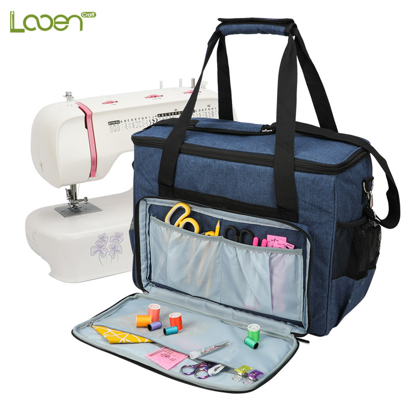 Large Capacity Sewing Machine Storage Bag Tote Multi-functional Portable Travel Home Organizer Bag For Sewing Tools &Accessories
