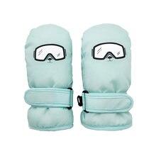 2 5yrs для мальчиков зимняя подкладка перчаток маленьких девочек