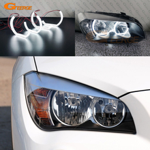 цена на For BMW X1 E84 2009 2010 2011 2012 2013 2014 2015 Excellent DTM M4 Style Ultra bright led Angel Eyes halo rings Car styling