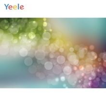 Yeele Birthday Light Bokeh Gradient Color Photocall Photography Backdrops Personalized Photographic Background For Photo Studio