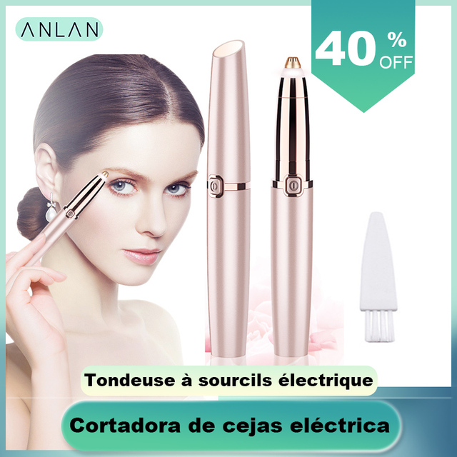Mini Eyebrow Trimmer Epilators Lipstick Brows Pen Hair Remover Epilator Shaver Razor Instant Painless Eyebrow Razor Epilator