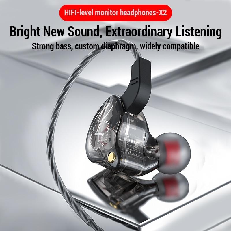 Sport Wired Headphones Running Earphone Computer Earphones Gamer Headset Handsfree Earbuds for Redmi Umidigi F2 MP3 audifonos 1