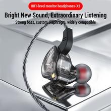 Sport Verdrahtet Kopfhörer Lauf Kopfhörer Computer Kopfhörer Gamer Headset Freisprecheinrichtung Earbuds für Redmi Umidigi F2 MP3 audifonos