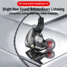 Sport Wired Headphones Running Earphone Computer Earphones Gamer Headset Handsfree Earbuds for Redmi Umidigi F2 MP3 audifonos