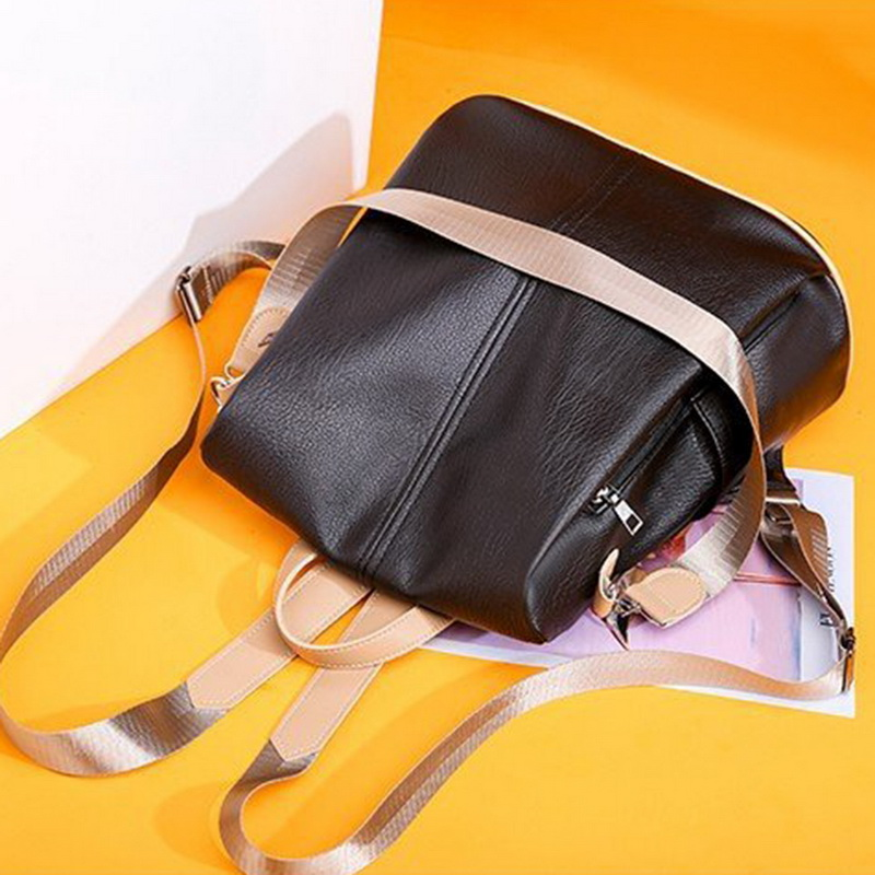 H95a734fbe4a3407f8ae186e658245e67Q - Fashion Women Waterproof Travel Backpack Anti-theft Oxford Backpack Female School Bags Bagpack For Girls Shoulder Bag